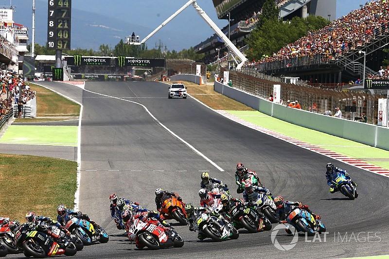 Barcellona: un test per far provare il nuovo asfalto ai piloti di MotoGP