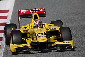 FIA F2 テストレポート 【F2】バルセロナテスト最終日:ナトーが首位。松下18番手