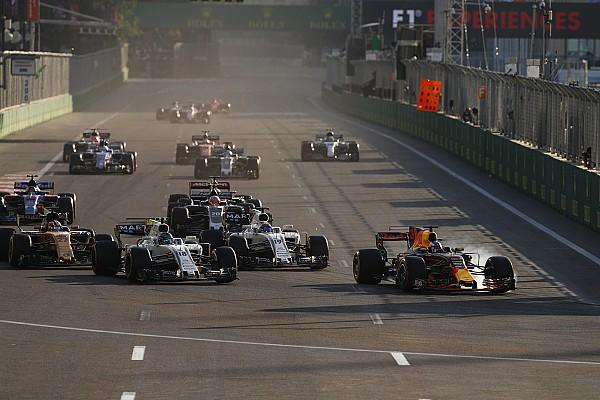 Формула 1 Відео: «потрійний» обгін Ріккардо в Баку назвали найкращим у сезоні
