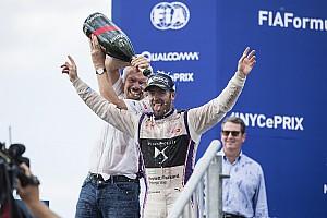 Formel E Rennbericht Formel E in New York: Sam Bird siegt für Virgin Racing