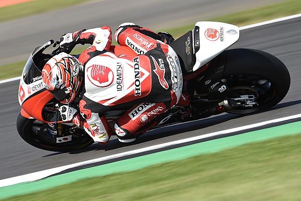 Moto2 Verslag vrije training Nakagami deelt ook de lakens uit in tweede training vol crashes