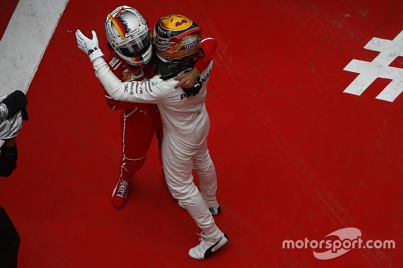 Хэмилтон: Я уважаю Феттеля больше, чем любого другого гонщика