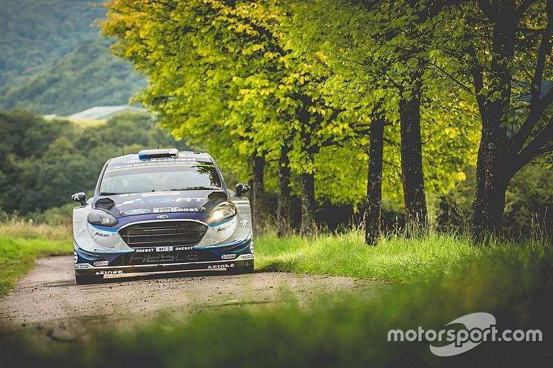 Germany WRC: Tanak leads Mikkelsen, Ogier spins