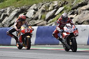 MotoGP Résumé de course Course - Dovizioso vainqueur d'un duel homérique face à Marquez
