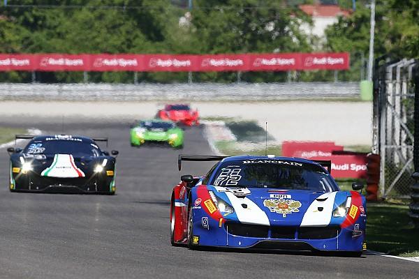 Davide Rigon e la Ferrari in testa nelle pre-qualifiche a Monza