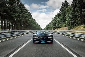 General Noticias de última hora Montoya alcanzó los 400 km/h en un Bugatti Chiron