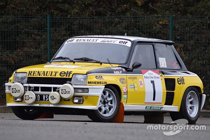 Une Renault R5 de Jean Ragnotti vendue aux enchères