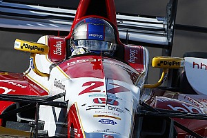 IndyCar Practice report St Pete IndyCar: Andretti leads opening practice