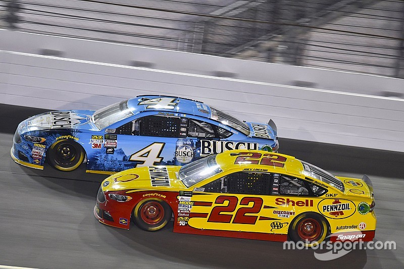 Joey Logano And Kevin Harvick From Rivals To Allies