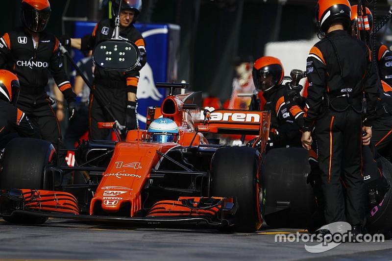 Алонсо назвал рекордной экономию топлива McLaren в Австралии
