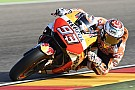 Aragon MotoGP: Marquez tops shortened warm-up