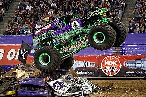 Other truck Breaking news Grave Digger driver Dennis Anderson injured in crash