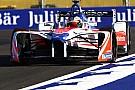 Formule E Mahindra had wagen maar net op tijd af voor winnende Rosenqvist