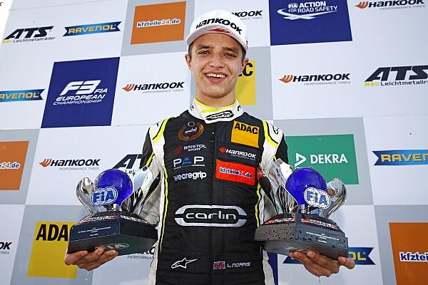 El junior de McLaren, Lando Norris, debutará en F2 en Abu Dhabi