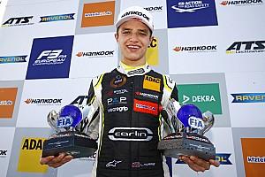 FIA F2 速報ニュース マクラーレン育成のランド・ノリス、F2最終戦にカンポスから出場