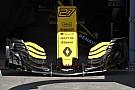 Renault: tagliati  flap dell'ala anteriore per ridurre il carico