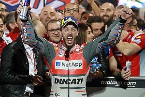 """MotoGP Noticias Dall'Igna: """"Dovizioso construyó esta victoria durante todo el invierno"""""""