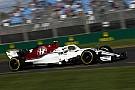 Formel 1 Sauber auf den Boden der Realität geholt: