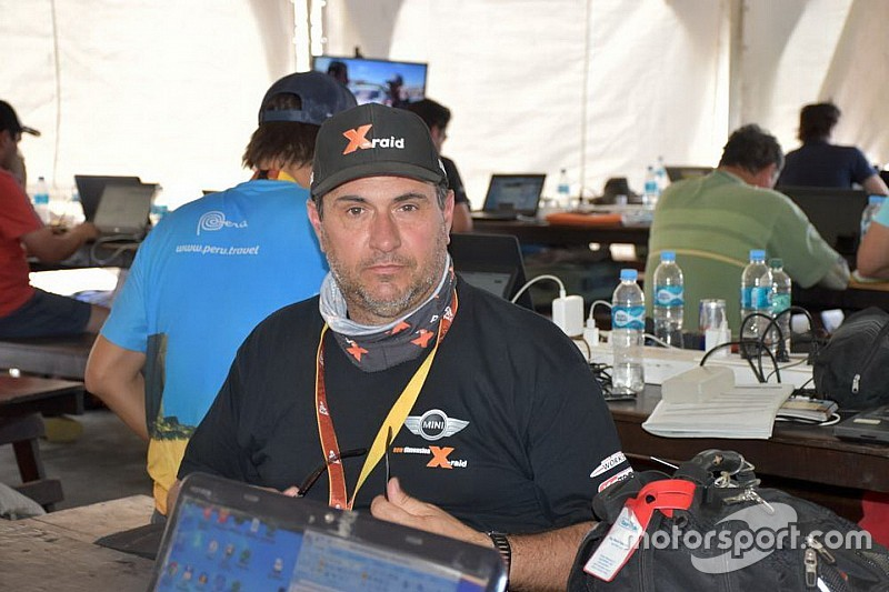 Dakar, la logistica del team MINI X-Raid è affidata all'italiano Pastorino
