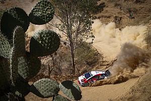 WRC Galería Galería: el primer día en el Rally México