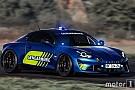 Alpine A110 für Verbrecherjagd