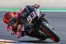 MotoGP Marquez voor Iannone tijdens post-GP test Barcelona
