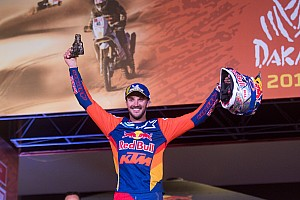 Sunderland gets Dakar podium after penalty withdrawal