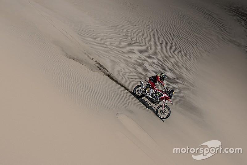 Three-hour Benavides penalty ends Honda's Dakar hopes