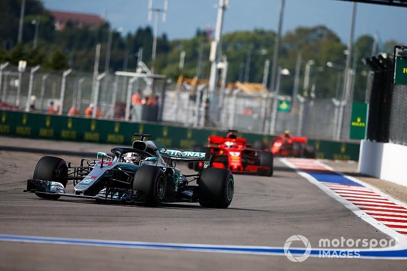 A Mercedes nem tudhatta, Hamilton abroncsai milyen rossz állapotban lehetnek