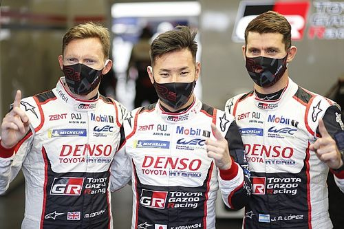 Le Mans 24h: Toyota narrowly beats Rebellion to pole