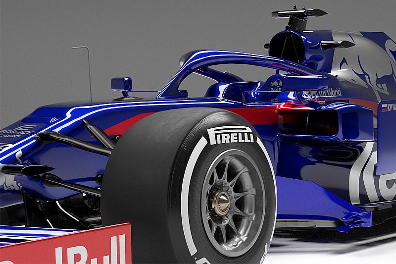 In beeld: De nieuwe Toro Rosso uit alle hoeken