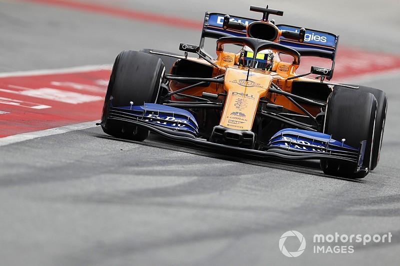 McLaren recupera la confianza en los test de Barcelona