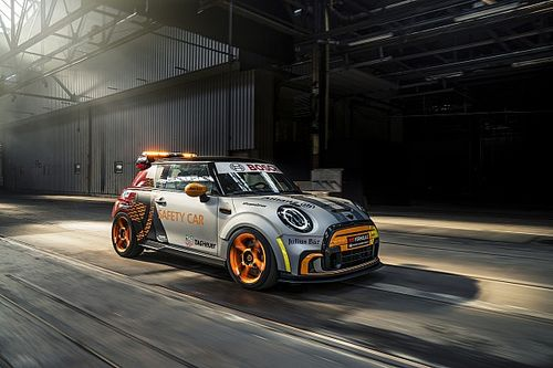 Formula E unveils electric Mini safety car for select races