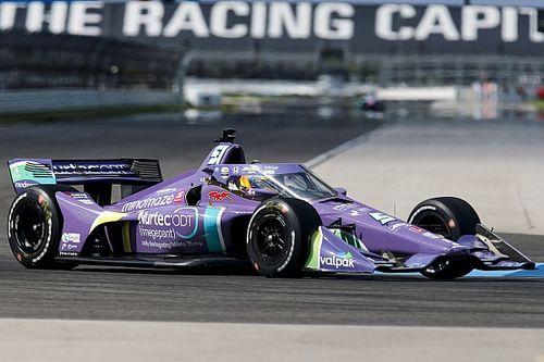 Grosjeana vite été à l'aise sur le circuit typé F1 d'Indianapolis