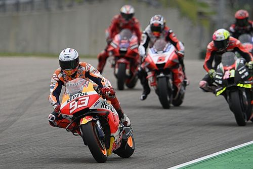 Marquez schrijft historie met magistrale MotoGP-zege in Duitsland