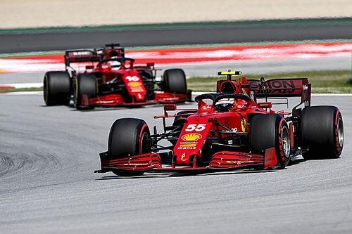 Sainz: Hay tres equipos en una décima en España