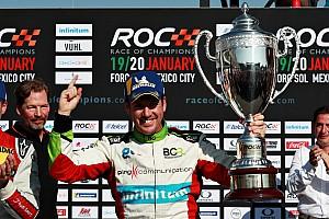 Race Of Champions: Pembalap tuan rumah buat kejutan