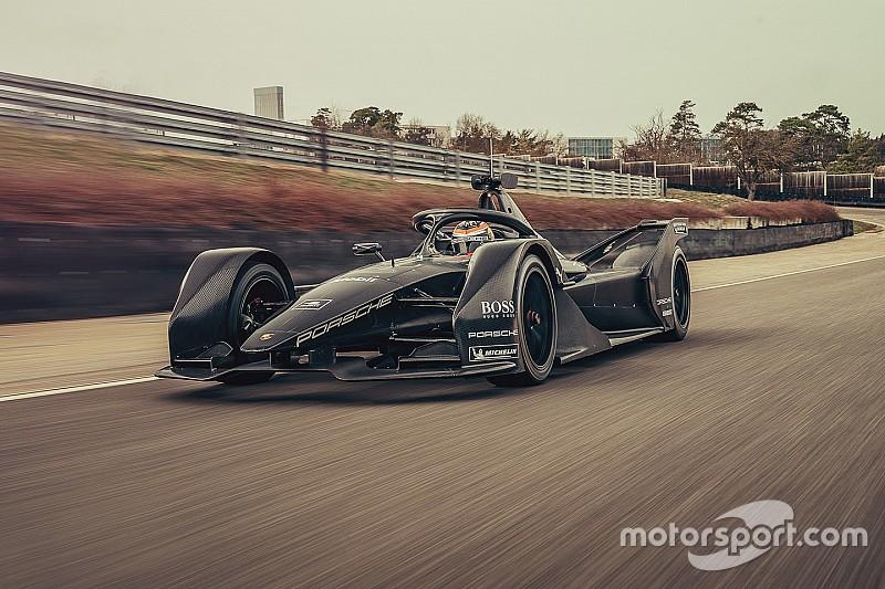 Porsche già proiettata alla Formula E: svolto lo shakedown con la monoposto Gen2