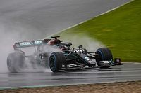 Hamilton reminded of Silverstone 2008 on pole lap