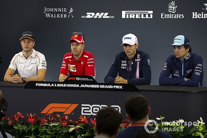 Japanese GP: Thursday's press conference