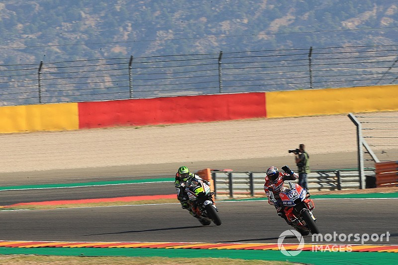 Ducati has edge over Honda at Aragon - Crutchlow