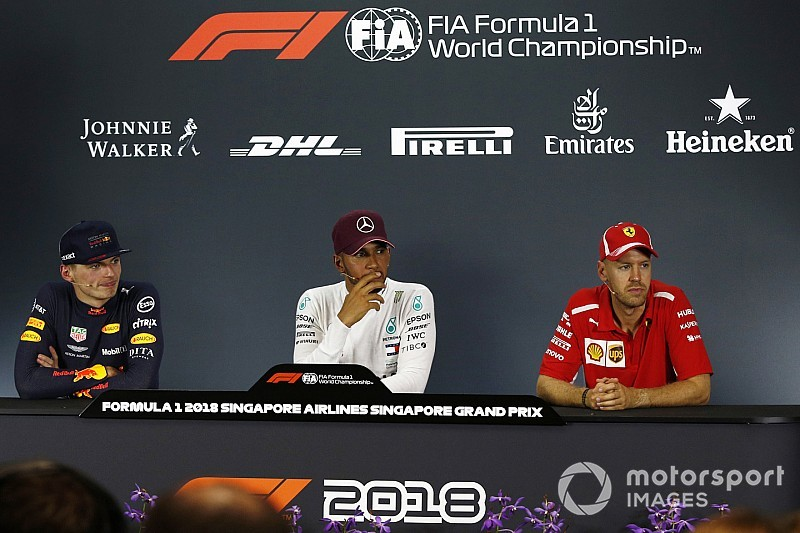 c8b9098788 Singapore GP  Post-race press conference