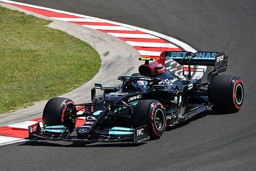 F1ハンガリーFP2:ボッタス首位でメルセデス1-2。角田裕毅はFP1のクラッシュ響き、ほぼ走れず