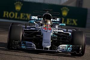 Hamilton ook bovenaan in derde training Abu Dhabi, Verstappen wederom op P6