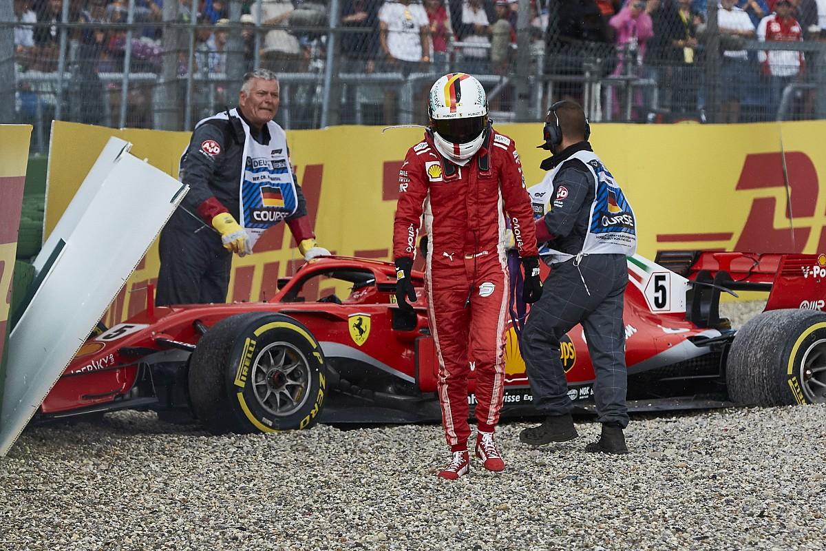 Vettel: Hockenheim pahalıya patladı ama Singapur dönüm noktasıydı