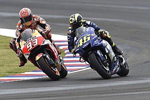 Rossi: Marquez sengaja menyenggol dan hancurkan MotoGP