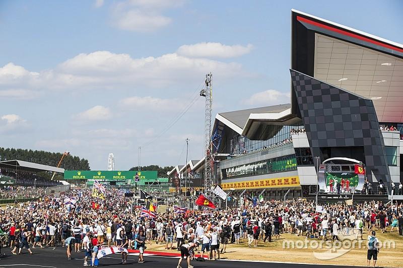 2018赛季F1现场观众超四百万,银石创全年之最