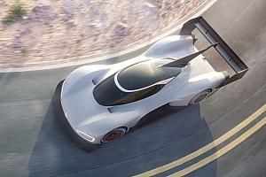 Hillclimb Noticias Primeras fotos del coche eléctrico del asalto de Volkswagen a Pikes Peak