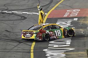 NASCAR Cup Отчет о гонке Кайл Буш выиграл гонку NASCAR в третий раз подряд