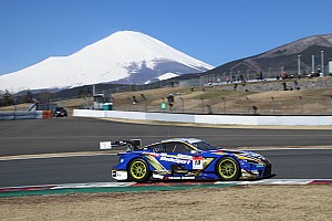 Super GT Testing report Lexus holds 1-2-3 as Super GT testing ends